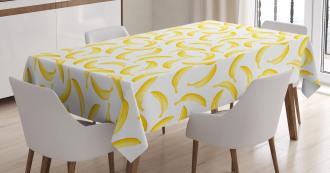 Cartoon Banana Tablecloth
