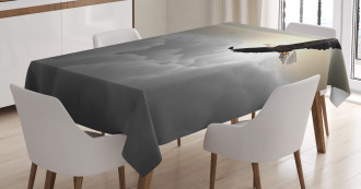 Sublime Creature Clouds Tablecloth