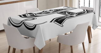 Rococo Influences Tablecloth