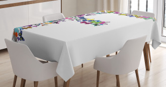 Exotic Climate Nature Tablecloth