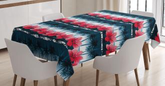 Tropic Hibiscus Tablecloth