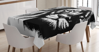 Wild African Safari Life Tablecloth