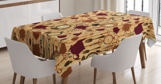 Breakfast Brunch Time Tablecloth