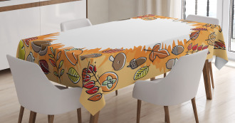 Environment Food Leaves Tablecloth