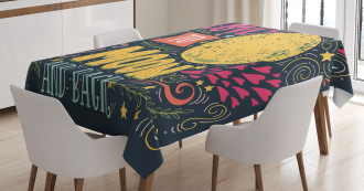 Fairy Tale Love Wish Tablecloth