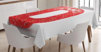 Ripe Fresh Fruit Theme Tablecloth