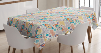 Itailan Ethnic Art Tablecloth