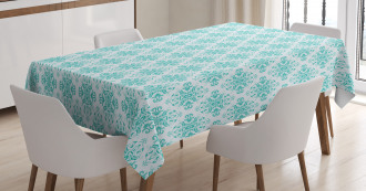 Vintage Floral Swirls Tablecloth