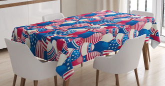 Traditional Easter Eggs Tablecloth