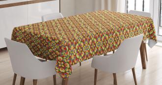 Kaleidoscopic Palette Tablecloth