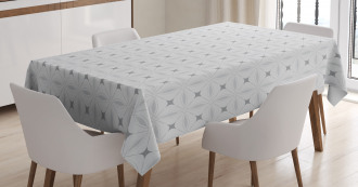 Eastern Art Motifs Tablecloth