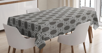 Octagons and Stars Tablecloth