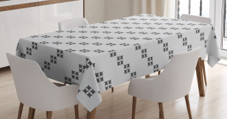 Middle East Squares Tablecloth