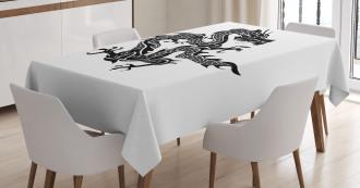 Zodiac Graphic Icon Tablecloth