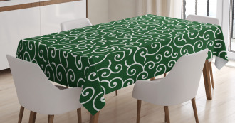 Ancient Japanese Pattern Tablecloth