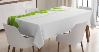 Blooming Fantasy Flora Tablecloth