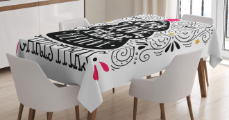 Christmas Tree Pattern Tablecloth