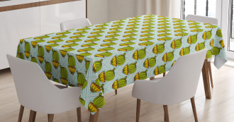 South American Plant Tablecloth