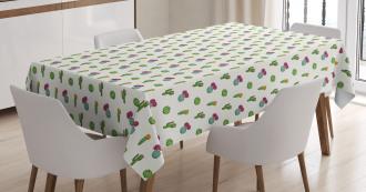 Horizontal Arrangement Tablecloth