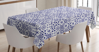 Tile Square Abstract Pattern Tablecloth
