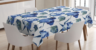Roses with Leaves Tablecloth