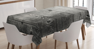 Ombre Wood Planks Tablecloth