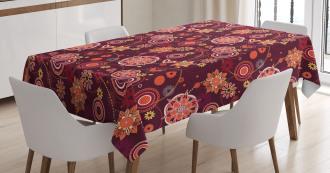 Vintage Foliage Tablecloth
