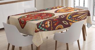 Indigenous Folk Tablecloth
