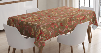 Victorian Leaves Tablecloth