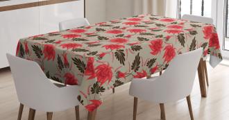 Flora Antique Classic Tablecloth