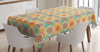 Boho Native Culture Tablecloth