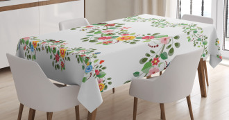 Romantic Pattern Tablecloth
