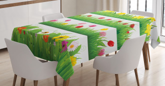 Nature Scenes Spring Tablecloth