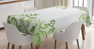 Victorian Curls Tablecloth