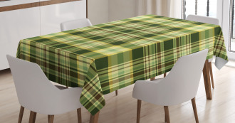 Scottish Quilt Tablecloth