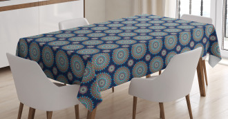 Spiritual Chinese Flora Tablecloth