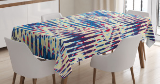 Refracted Waves Abstract Tablecloth