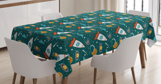 Outer Space Nebula Tablecloth