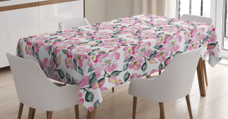 Branches Abloom Tablecloth