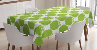 Fruitarian Diet Design Tablecloth