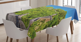 Famous Landmark Tablecloth