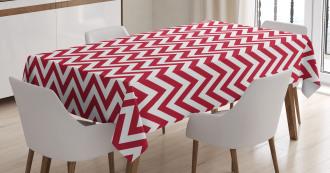 Classical Simple Chevron Tablecloth