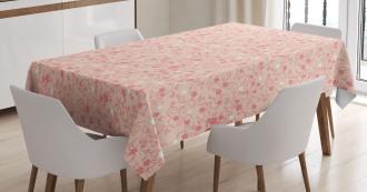 Vintage Asian Tablecloth
