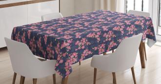 Retro Garden Tablecloth
