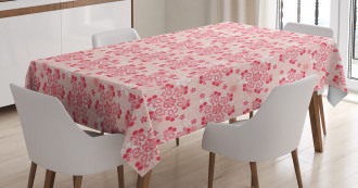 Vintage Curls Tablecloth