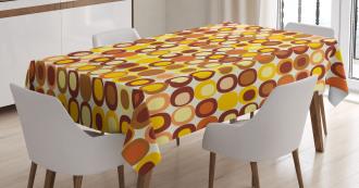 Kitsch Retro Square Tablecloth