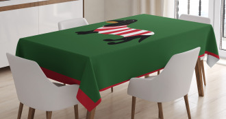Canine Cartoon Dog Tablecloth