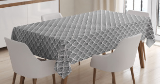 Dotted Design Tablecloth