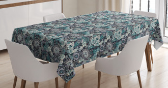 Traditional Eastern Art Tablecloth