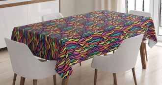 Stained Glass Pattern Tablecloth